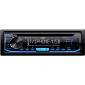 JVC KD SR85BT Single DIN In Dash AM FM CD Receiver with Bluetooth