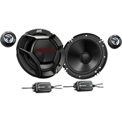 JVC CS DR601C drvn DR Series Shallow Mount 6.5 in. 2 Way Component Speakers