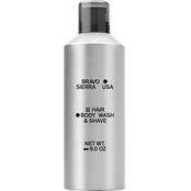 Bravo Sierra Hair/Body Wash and Shave 9 oz.