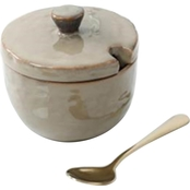 CTG Sugar Pot with Lid and Spoon