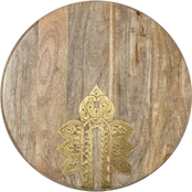Cravings by Chrissy Teigen Lazy Susan with Metal Inlay