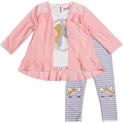 Little Lass Infant Girls Something Special 3 pc. Cardigan Set