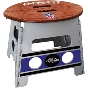 Fan Mats NFL Football Folding Step Stool