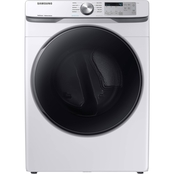 Samsung 7.5 cu. ft. Electric Dryer with Steam Sanitize+ White