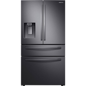 RF28R7351SG/AA 28 cu. ft. 4-Door French Door Refrigerator with Food Showcase