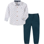 Nautica Toddler Boys Shirt and Pants 2 pc. Set