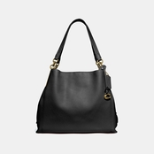 COACH Dalton Pebble Leather Shoulder Bag