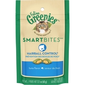 Greenies Smartbites Hairball Tuna 2.1 oz.
