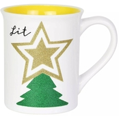 Our Name is Mud 16 oz. Glitter Tree Mug