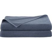 EcoPure Serene 2 pc. Bath Sheet Set