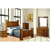 Chelsea Home Furniture Hide Away Gun Bed 5 pc. Set