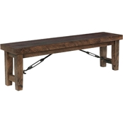 Chelsea Home Furniture Rustic Lodge Bench