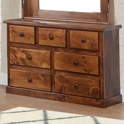 Chelsea Home Furniture Hide Away 7 Drawer Dresser