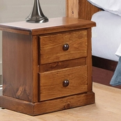 Chelsea Home Furniture Hide Away 2 Drawer Nightstand