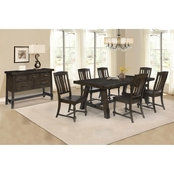 Chelsea Home Furniture Brooke View 8 pc. Dining Set