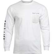 Salt Life Salt Quiver Pocket Tee
