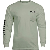 Salt Life Tropic Tail Pocket Tee
