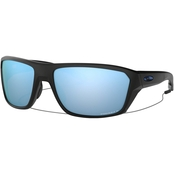 Oakley Split Shot Matte Black Prizm Deep H2O Polar Sunglasses OO9416