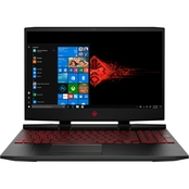 HP Omen 15-DC1087nr  Intel i7  NVIDIA GTX1660ti-6GB  256GB SSD + 1TB HDD  Gaming