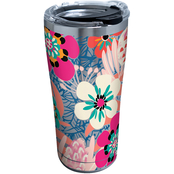 BRIGHT WILD BLOOMS STAINLESS 20 OZ