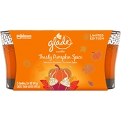 Glade 6.8 oz. Toasty Pumpkin Spice Candle, 2 pk.