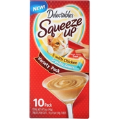 Hartz Delectables Squeeze Up Treat Variety, 10 pk.