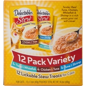 Delectables Stew Lickable Cat Treats Variety Pack 12pk