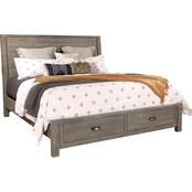 aspenhome Radiata Sleigh Bed with Storage