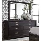 aspenhome Front Street Dresser and Mirror