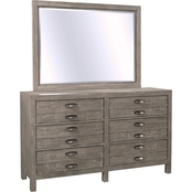 aspenhome Radiata Chesser and Mirror