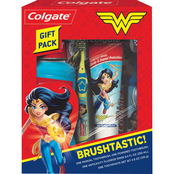 Colgate Kids Wonder Woman Toothbrush and Toothpaste Holiday Gift Set