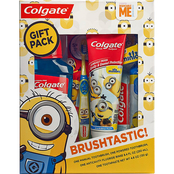 Colgate Kids Minions Toothbrush and Toothpaste Holiday Gift Set