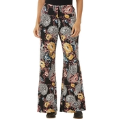 PASSPORTS PALAZZO PANT IN FLORAL PAISLEY PUFF PRINT