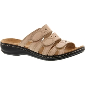 Clarks Leisa Cacti Q Adjustable Slide Sandals