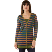 JW Bubble Knit Stripe Cardigan