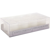 Simply Perfect LED White Votive Candles 8 pk.
