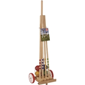 Kettler Londero Croquet Set with Cart