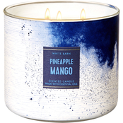 Bath & Body Works Beach House: 3 Wick Candle Pineapple Mango