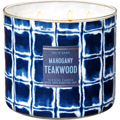 Bath & Body Works Beach House: 3 Wick Candle Mahogany Teakwood