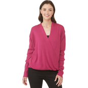 JW Wrap Drape Sweater