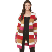 JW Striped Long Cardigan