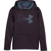 Under Armour Boys Fleece Branded Hoodie