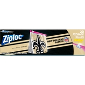 Ziploc NFL Slider Gallon Bags 20 ct.