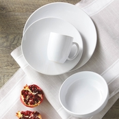 Simply Perfect 16 pc. Gloss White Dinnerware Set