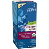 Mommy's Bliss Organic Elderberry Syrup + Immunity Boost 3 oz.