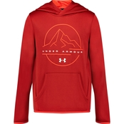 Under Armour Boys Mountain Logo Hoodie