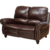 Abbyson Cambridge Pushback Loveseat