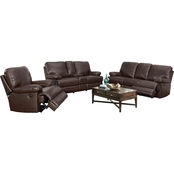Abbyson Manchester 3 pc. Power Reclining Set