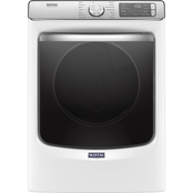 Maytag 7.3 cu. ft. Smart Front Load Electric Dryer with Extra Power and Sensing