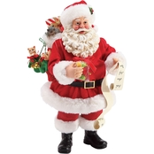 Possible Dreams Santa and His Pets Figurine
